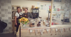 cafe 1 300x159 - Jo and Rebeckah - setting up a cafe and craft centre
